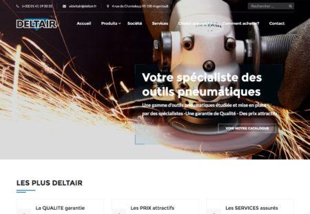 création site internet Deltair